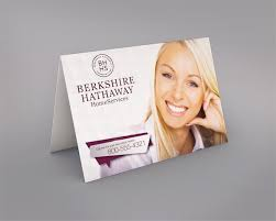 berkshire hathaway real estate greeting cards realty cards printing