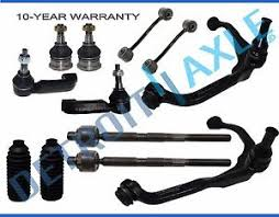 jeep liberty suspension brand 12pc complete front suspension kit for dodge nitro and
