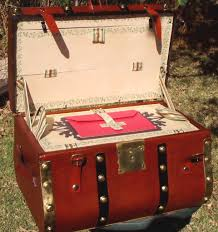 beautiful travel trunks antique trunk restoration and refinishing by shenandoah
