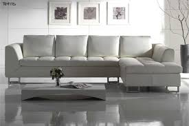Modern White Bonded Leather Sectional Sofa White Bonded Leather Sectional Sofa Set With Light Www