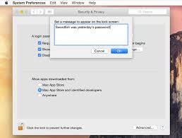 reset nvram yosemite terminal add a login message to your mac using these tricks