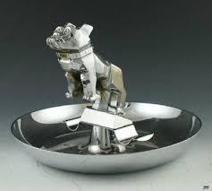 vintage mack truck bulldog ornament ashtray i remember