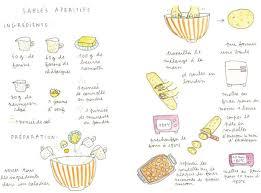 dessin recette de cuisine 3 recettes pour un apéritif chic lyon femmes