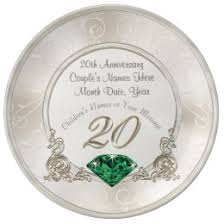 20 years anniversary gifts 20 year anniversary gifts on zazzle