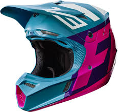 motocross helmet light 2017 fox v3 creo motocross helmet teal 1stmx co uk