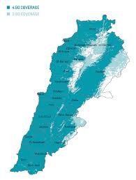 Tv Reception Map Touch The Leading Mobile Operator In Lebanon