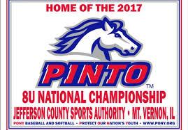 Pinto 8u national tournament