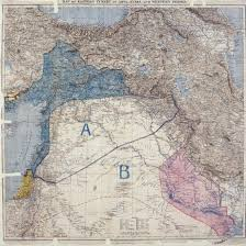 middle east map changes why border lines with a ruler in ww1 still rock the middle