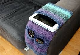 Knitting Pattern Instant Download Pdf Remote Control Caddy Arm