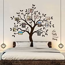Amazoncom Timber Artbox Beautiful Family Tree Wall Decal With - Family room wall decals