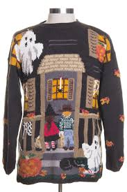 vintage halloween sweater 210 ragstock