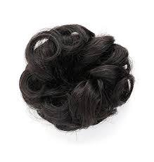 donut hair bun rosette hair 100 human hair scrunchie curly bun human hair