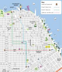 san francisco map cable car san francisco cable car map sf trolley map city sightseeing tours