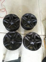 nissan frontier lug pattern fs set of 4 american outlaw 18 inch rims nissan frontier forum