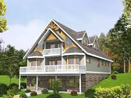 sloping lot house plans back sloping lot house plans house interior