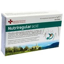 nutriregular acid integratore contro l acidit罌 di stomaco