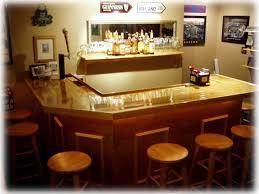 45 l shaped home bar plans