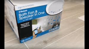 home netwerks bath fan home netwerks bath fan light speaker all in one from home depot