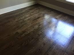Hardwood Flooring Oak Newly Sanded 2 Oak Hardwood Flooring Minwax Espresso Stain