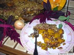 cuisine potimarron gratin au potimarron et amarante recette de cuisine