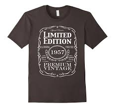 birthday gift for turning 60 60th birthday gift t shirt born in 1957 turning 60 shirt fazo