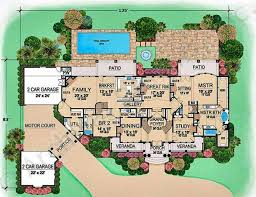 villa floor plan villa house plans floor plans homes floor plans