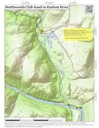 Hudson River Map Blue Ledges U2013 Andy Arthur Org