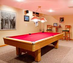 small pool table room ideas pool table american traditional home bar new york by rikki