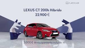 xe lexus ct anuncio lexus ct 200h 2015 youtube