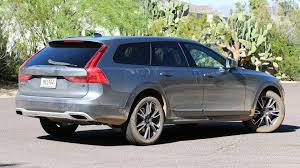 volvo minivan 2017 volvo v90 cross country first drive like an suv but better