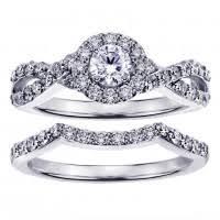 braided band vip jewelry engagement bridal sets