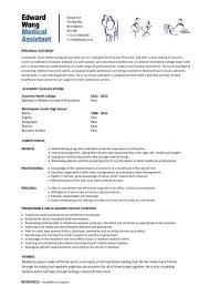 gallery of entry level medical assistant resume examples resume