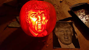 Scariest Pumpkin Carving by Donald Trump Archives Horror News And Reviews