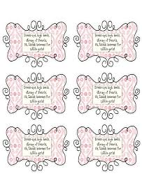baby shower favor tag sayings baby shower diy