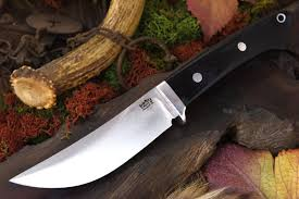 bark river knives classic trailing point hunter fixed 4 5