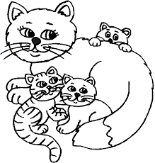 printable coloring pages kittens coloring page kitten three pregnant kittens coloring page coloring