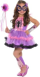 party city halloween costumes wigs create your own girls u0027 spider costume accessories party city