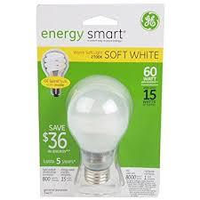 60 watt light bulb lumens ge lighting 74437 energy smart cfl 15 watt 60 watt replacement 800