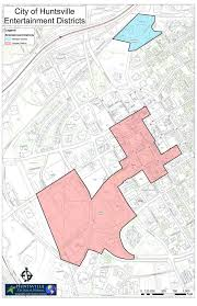 Map Of Al Why Quigley Proposed Downtown Huntsville Entertainment District