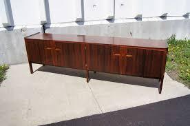 long danish rosewood sideboard by arne hovmand olsen for mogens