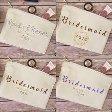 Bridal Makeup Bags Best 25 Bridesmaid Makeup Bag Ideas On Pinterest