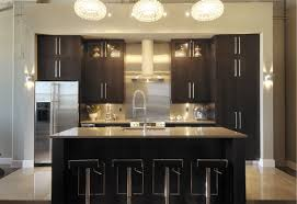 Contemporary Dark Wood Kitchen Cabinets DRK Architects - Dark wood kitchen cabinets