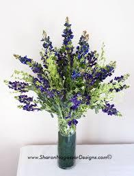 Floral Arrangements Centerpieces Purple Blue Mix Lupine Floral Arrangement Centerpiece Can Also