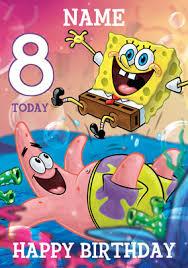 card invitation design ideas spongebob birthday age creative