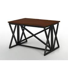 counter height dining table siena black and cedar urban rc