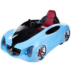 toddler battery car lil u0027 rider pre assembled 12v battery operated sports car u2014 qvc com