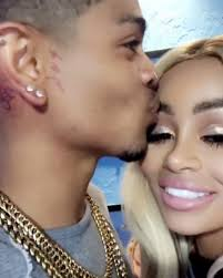 blac chyna cosies up to new man with neck tattoo of her initials