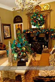 peacocks home decor 12 best christmas trees majestic peacock theme images on pinterest