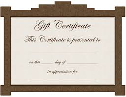 Participation Certificate Templates Free Download Gift Certificate Template Certificate Templates