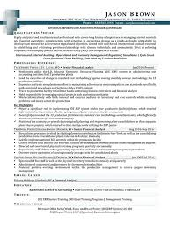 Controller Resume Examples by Finance Resume Examples Resume Professional Writers